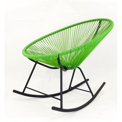 Acapulco Rocking Chair Color: Green