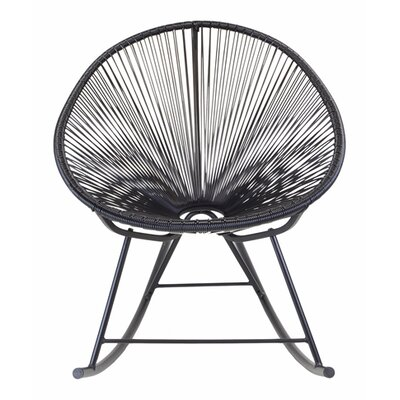 Acapulco Rocking Chair Color: Black