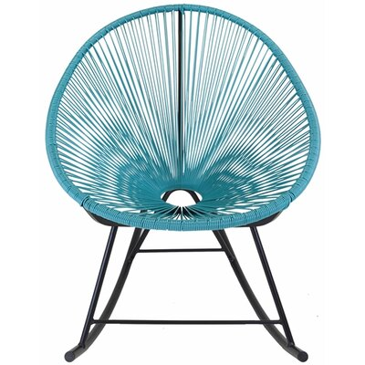 Acapulco Rocking Chair Color: Blue