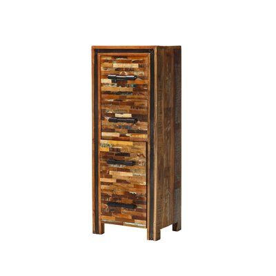 Jaipur Mixed Wood 4 Drawer Accent Chest