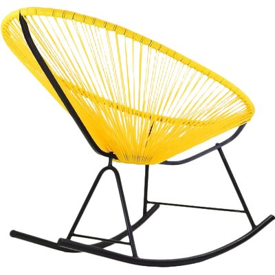 Acapulco Rocking Chair Color: Yellow