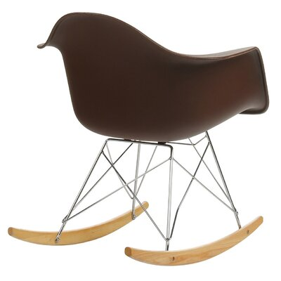 Rocking Chair Frame Color: Brown