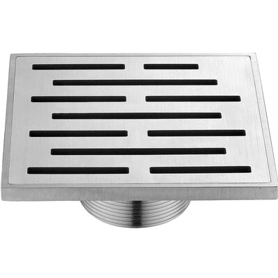 "Amazon River 2"" Grid Shower Drain"