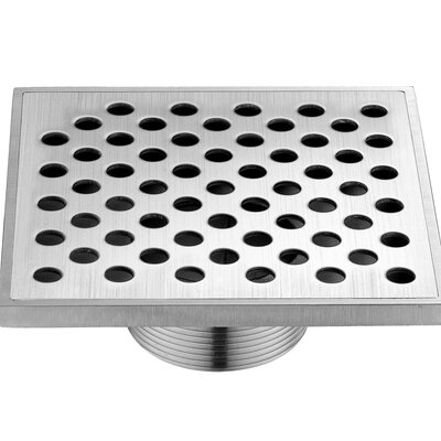 "Rhone River 2.31"" Grid Shower Drain"