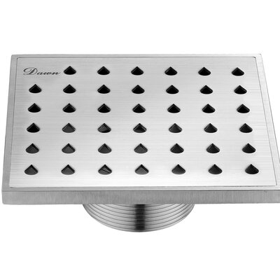 "Nile River 2.31"" Grid Shower Drain"