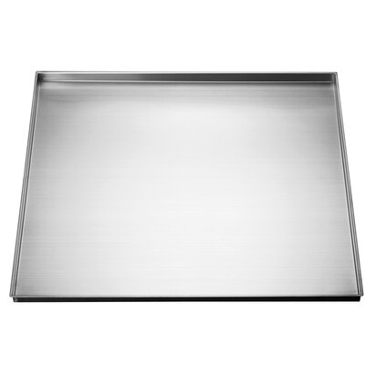 "25"" x 22"" Stainless Steel Under Sink Drip Tray"