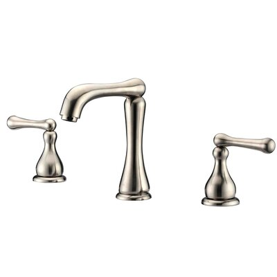 Deck Mounted Faucet Finish: Brushed Nickel