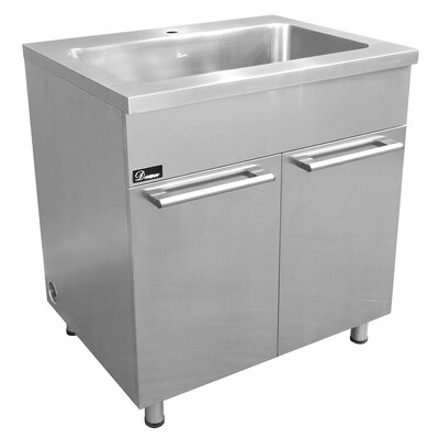 "36"" Stainless Steel Vanity Base"