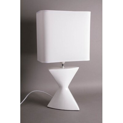 House Additions Double Pyramid Reversing 46.5cm Table Lamp
