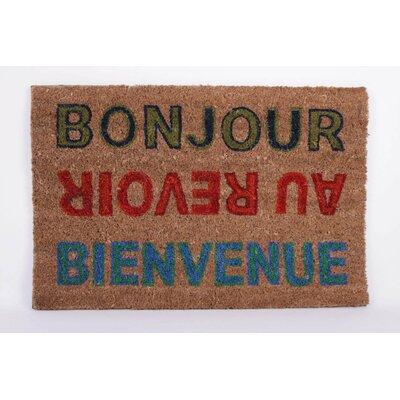 House Additions Bonjour Doormat