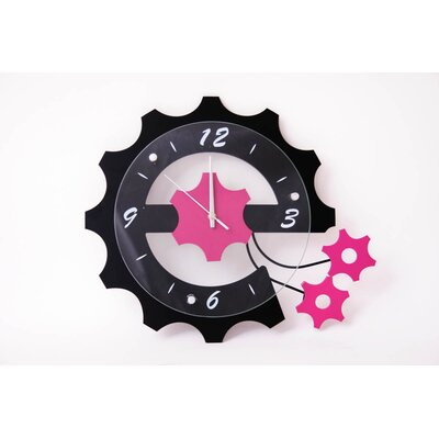 House Additions Gears Wall Clock