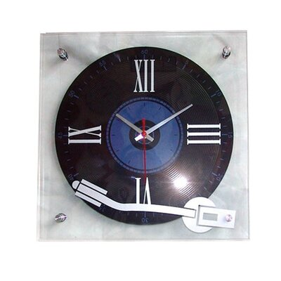 House Additions DJ Turntable Wall Clock
