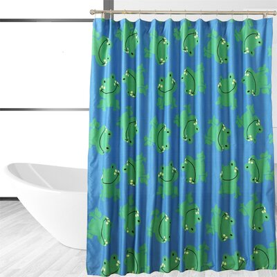 Froggy Friends Shower Curtain