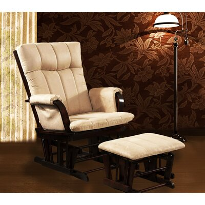 Home Deluxe Glider Chair And Ottoman