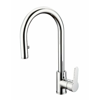 Eisl Futura C Single Handle Deck Mounted Monobloc Mixer Tap with Pull-Out Spray