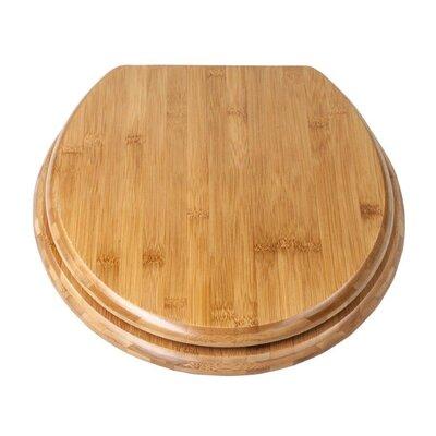 Eisl Bamboo Elongated Toilet Seat