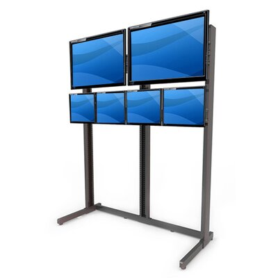 Multi-Monitor Floor Stand Mount for LCD/Plasma/LED