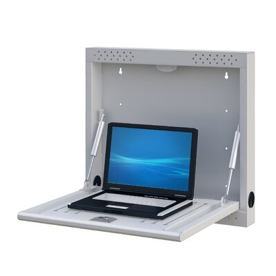 Wall Mounted Workstation for Laptops