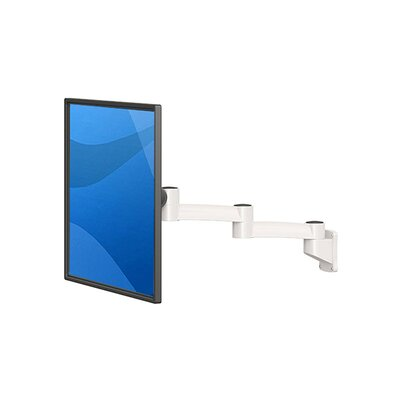 """TV and Monitor Articulating/Extending Arm Universal Pole Mount for 28"""" - 32"""" Screens"""
