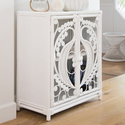 Rosana 2 Door Accent Cabinet Color: White