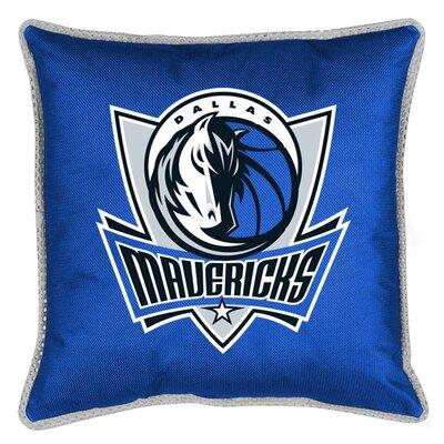 Sports Coverage Inc. NBA Dallas Mavericks Sidelines Throw Pillow