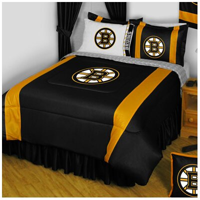Boston Bruins Queen Bedding