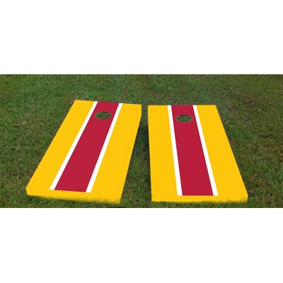 """USC Cornhole Game Size: 48"""" H x 24"""" W, Color: Red/Yellow, Bag Fill: Whole Kernel Corn"""