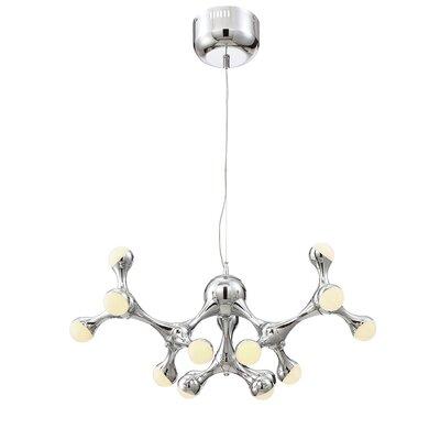 Delcid Contemporary 1-Light LED Sputnik Chandelier