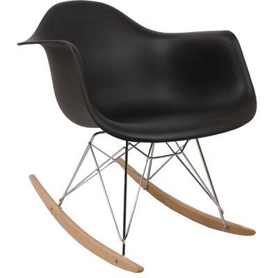 Rocking Chair Frame Color: Black