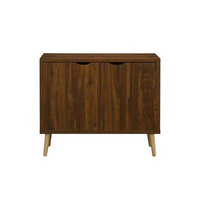 Wakeland Entryway 2 Door Accent Cabinet Color: Brown