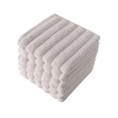 Brampton Turkish Cotton Washcloth Color: Ivory