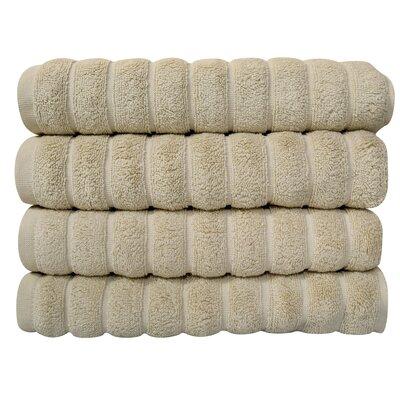 Brampton Turkish Cotton Hand Towel Color: Ivory