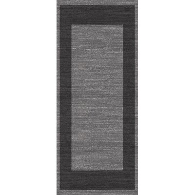 Flora Carpets Gabeh Dark Grey/Anthracite Area Rug
