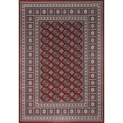 Flora Carpets Markiz Bordo/Dark Blue Area Rug