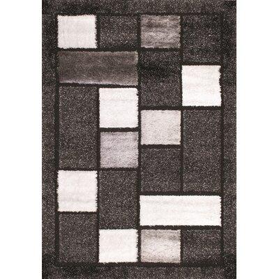 Flora Carpets Isilti Grey/Black Area Rug