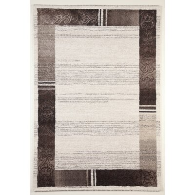 Flora Carpets Gabeh Cream/Light Brown Area Rug