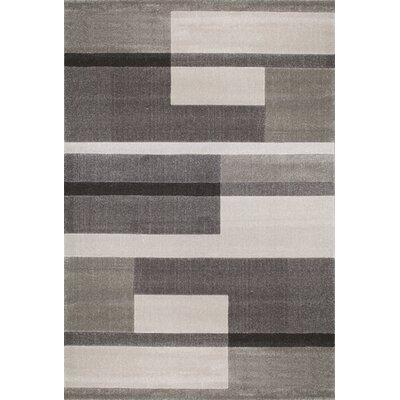 Flora Carpets Alina Grey/Light Grey Area Rug
