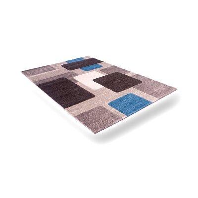 Flora Carpets Alina Grey/Blue Area Rug