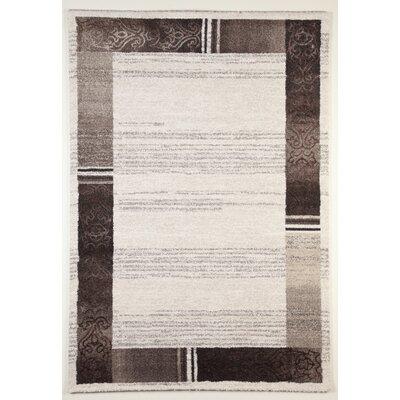 Flora Carpets Gabeh Cream/Light Brown Area Rug