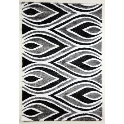 Flora Carpets Isilti Black/Grey Area Rug