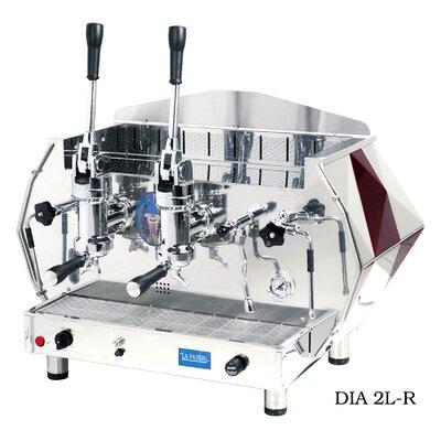 La Pavoni Diamente Lever Coffee & Espresso Maker Color: Red