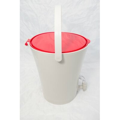 1.7 Gal. Kitchen Composter Color: Red