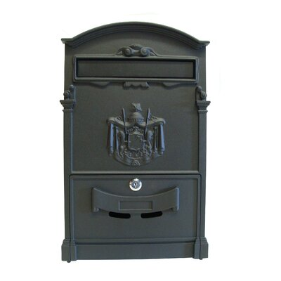 Vault Locking Wall Mounted Mailbox Size: Small