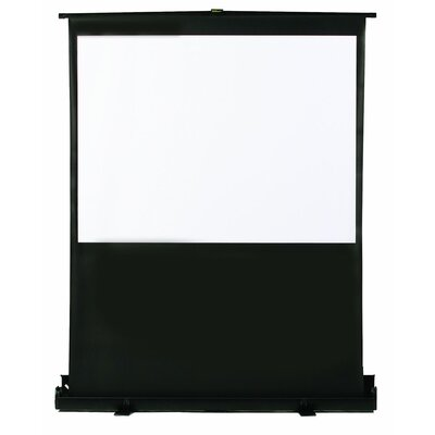 "Matte White 60"" Diagonal Portable Projection Screen"