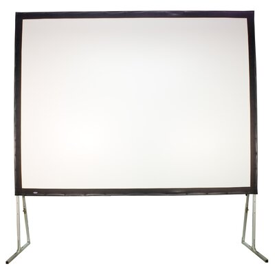 "Matte White Fixed Frame Projection Screen Viewing Area: 150"" diagonal"