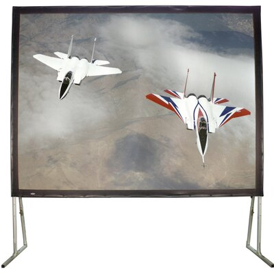 "Matte White 110"" Diagonal Fixed Frame Projection Screen"