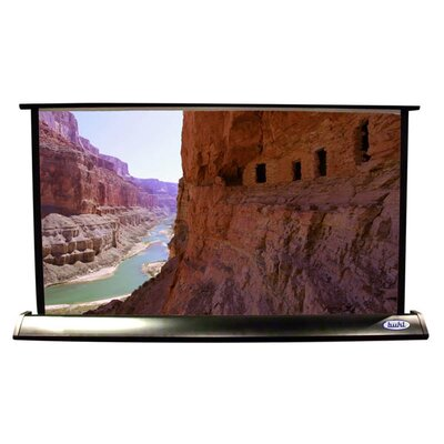 "Matte White Electric Projection Screen Viewing Area: 15"" H x 26"" W"