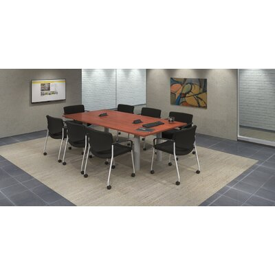 "Rectangular 29.25""H x 48""W x 96""L Conference Table Set Top Finish: Cherry"