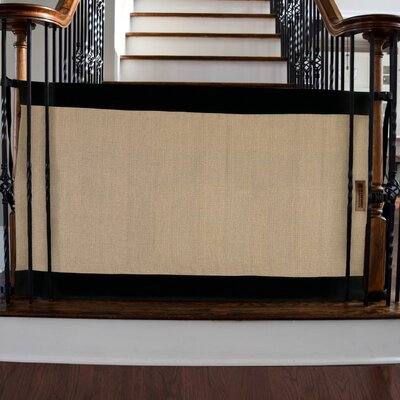 """Banister to Banister Safety Gate Size: 32"""" H x 43""""- 52"""" W"""
