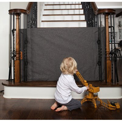 Banister to Banister Safety Gate Size: 32? H x 36?- 42? W, Color: Heather Gray